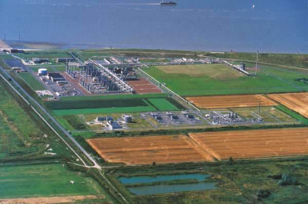Natural gas terminal Gassco AS Germany